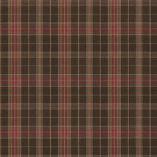 Chestnut Check Drapery and Upholstery Fabric by Fabricut