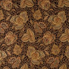 Onyx Jacobean Drapery and Upholstery Fabric by Fabricut
