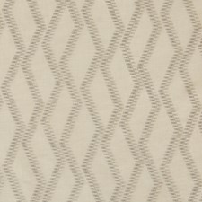 Beige/Grey/Taupe Geometric Drapery and Upholstery Fabric by Kravet