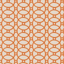 Orange Blossom Embroidery Drapery and Upholstery Fabric by Fabricut