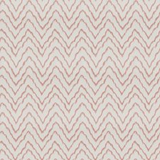 Coral Embroidery Drapery and Upholstery Fabric by Fabricut
