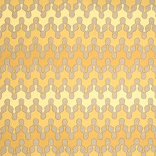 Yellows Embroidery Drapery and Upholstery Fabric by Vervain