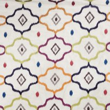 Exotic Embroidery Drapery and Upholstery Fabric by Vervain