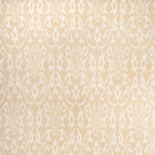 Gold Flamestitch Drapery and Upholstery Fabric by Vervain