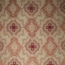 Cranberry Paisley Drapery and Upholstery Fabric by Vervain
