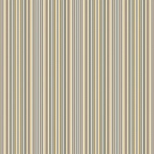 Olive Sun Stripes Drapery and Upholstery Fabric by Vervain