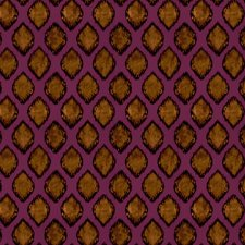 Rhodolite Global Drapery and Upholstery Fabric by S. Harris