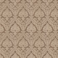 Fawn Damask Drapery and Upholstery Fabric by Vervain