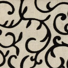 Black/linen Drapery and Upholstery Fabric by Duralee