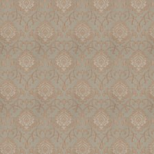 Celadon Damask Drapery and Upholstery Fabric by Trend