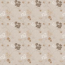 Biscuit Embroidery Drapery and Upholstery Fabric by Fabricut