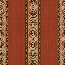 Rust Global Drapery and Upholstery Fabric by Vervain