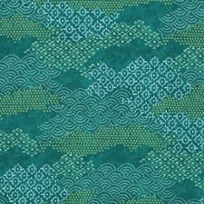Marrakech Green Drapery and Upholstery Fabric by Robert Allen