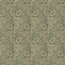 Seagrass Paisley Drapery and Upholstery Fabric by Fabricut