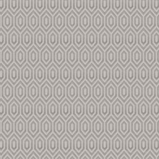Pewter Geometric Drapery and Upholstery Fabric by Fabricut