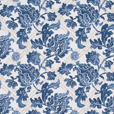 Indigo Drapery and Upholstery Fabric by Robert Allen /Duralee
