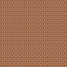 Spice Geometric Drapery and Upholstery Fabric by Trend