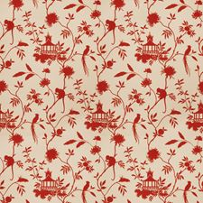 Red Global Drapery and Upholstery Fabric by Trend