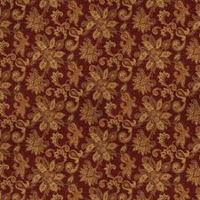 Ruby Floral Drapery and Upholstery Fabric by Trend