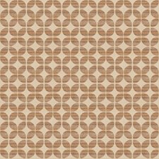 Sandstone Geometric Drapery and Upholstery Fabric by Trend