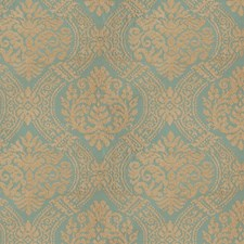 Water Tone Embroidery Drapery and Upholstery Fabric by Stroheim