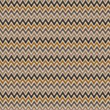 Latte Flamestitch Drapery and Upholstery Fabric by Fabricut