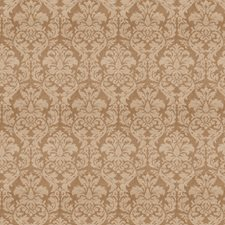 Taupe Jacquard Pattern Drapery and Upholstery Fabric by Trend