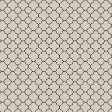 Black Lattice Drapery and Upholstery Fabric by Trend