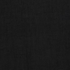 Black Solid Drapery and Upholstery Fabric by Trend