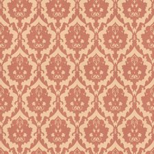 Rose Damask Drapery and Upholstery Fabric by Trend