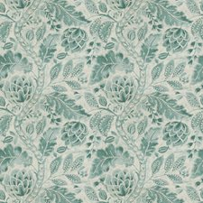Lagoon Leaves Drapery and Upholstery Fabric by Fabricut