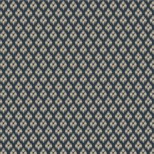 Indigo Diamond Drapery and Upholstery Fabric by Fabricut