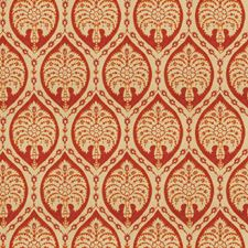 Sunset Medallion Drapery and Upholstery Fabric by Vervain