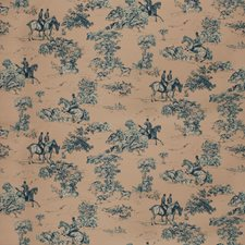 Blueberry Toile Drapery and Upholstery Fabric by Vervain