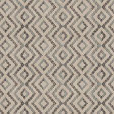 Indigo Flamestitch Drapery and Upholstery Fabric by Fabricut