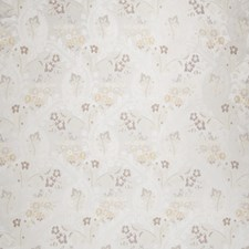 Floral Drapery and Upholstery Fabric by Stroheim