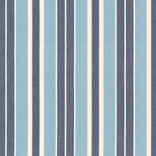 Chambray/Indigo/Ivory Drapery and Upholstery Fabric by Schumacher