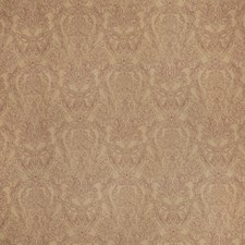 Red Paisley Drapery and Upholstery Fabric by Stroheim
