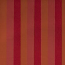 Paprika Stripes Drapery and Upholstery Fabric by Stroheim