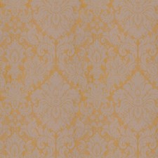 Goldleaf Damask Drapery and Upholstery Fabric by Vervain