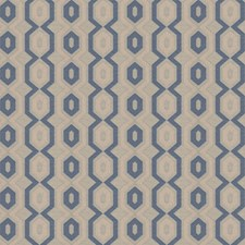 Lapis Lattice Drapery and Upholstery Fabric by Trend