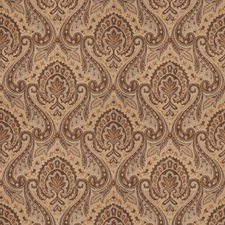 Mink Paisley Drapery and Upholstery Fabric by Fabricut