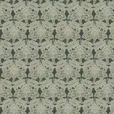 Viridian Embroidery Drapery and Upholstery Fabric by Stroheim