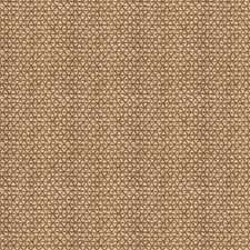 Ash Brown Geometric Drapery and Upholstery Fabric by Stroheim
