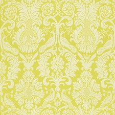 Acid Green Drapery and Upholstery Fabric by F Schumacher