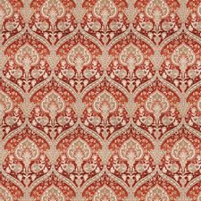 Redwood Floral Drapery and Upholstery Fabric by Trend