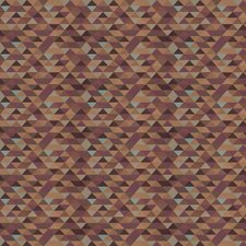 Plum Geometric Drapery and Upholstery Fabric by Trend