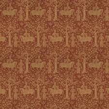 Paprika Animal Drapery and Upholstery Fabric by Vervain