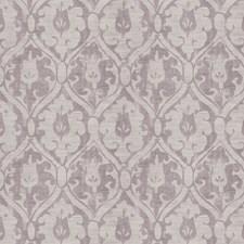 Amethyst Damask Drapery and Upholstery Fabric by Fabricut