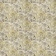 Gold Dust Floral Drapery and Upholstery Fabric by Fabricut